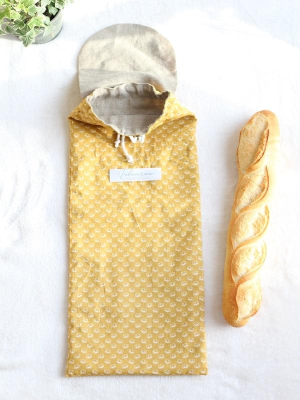Intérieur du sac à pain