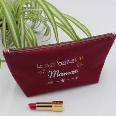 Trousse Brodee Maman