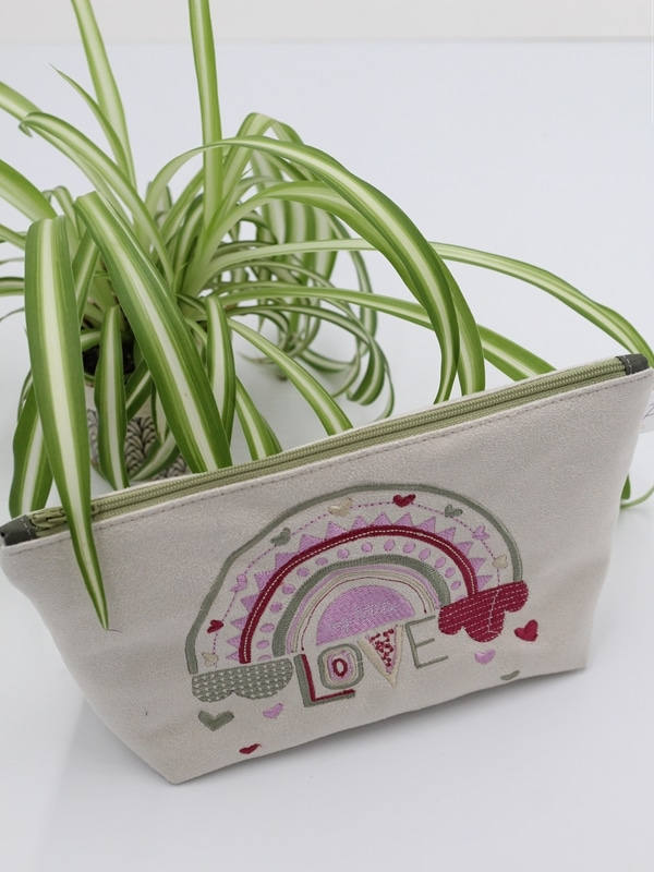 Trousse Brodee My Little Love Rose