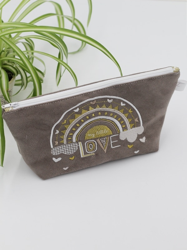 Trousse My Little Love Taupe